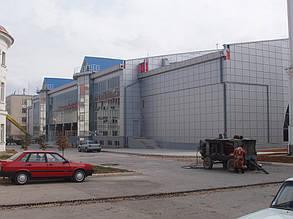 Вентилируемый фасад, спорткомплекс, г. Севастополь 9