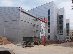 Вентилируемый фасад, спорткомплекс, г. Севастополь 10