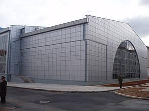 Вентилируемый фасад, спорткомплекс, г. Севастополь 12