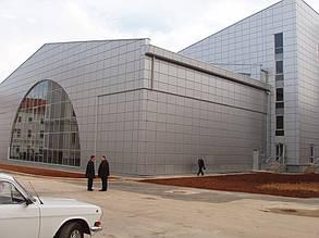 Вентилируемый фасад, спорткомплекс, г. Севастополь 14
