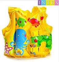 Надувной жилет для купания детский