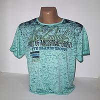 Мужская батальная футболка марлевка пр-во Турция N3537G