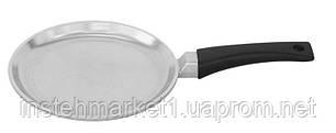 Сковорода блинная БИОЛ 2208Б (220х18 мм) алюминиевая, бакелитовая ручка, фото 2