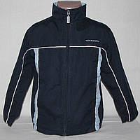 Спортивная куртка, ветровка Diadora темно-синего цвета на 4-6 лет