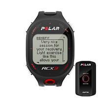 Монитор сердечного ритма POLAR RCX3 BLACK GPS