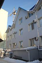 Вентилируемый стальной фасад, ветеринарная больница, г. Хмельницкий 2