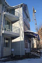 Вентилируемый стальной фасад, ветеринарная больница, г. Хмельницкий 3