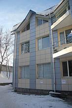 Вентилируемый стальной фасад, ветеринарная больница, г. Хмельницкий 4