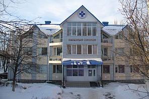 Вентилируемый стальной фасад, ветеринарная больница, г. Хмельницкий 5