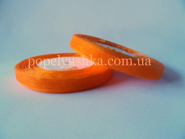 Органза 0,9 см оранжева