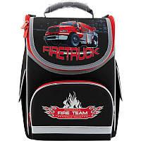 Рюкзак школьный каркасный Kite Firetruck K18-501S-1; рост 115-130 см, фото 1
