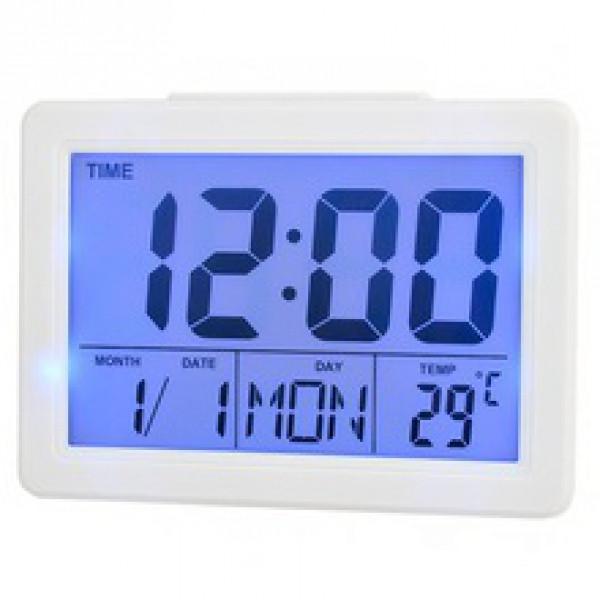 Настольные часы Voice Control Alarm Clock 2619 ( электронные часы )