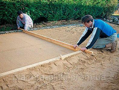 Подготовка основания для укладки тротуарной плитки