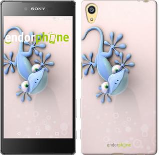 """Чехол на Sony Xperia Z5 Гекончик """"1094c-274-571"""""""