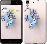 "Чехол на Huawei Y6 Гекончик ""1094c-333-571"""