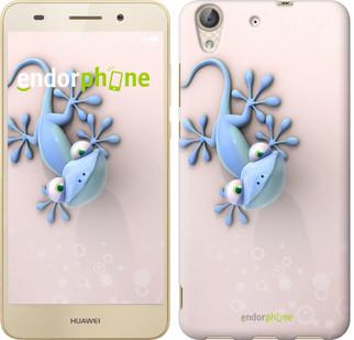 """Чехол на Huawei Y6 II Гекончик """"1094c-338-571"""""""