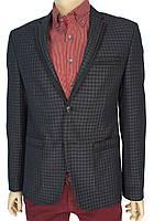 Черный мужской пиджак Daniel Perry 4001#5.B в клетку