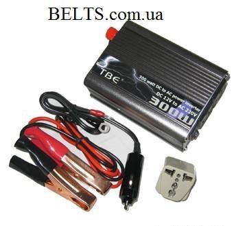 Стабилизатор напряжения 300W, инвертор 300 Ватт, преобразователь напряжения TBE Power Inverter
