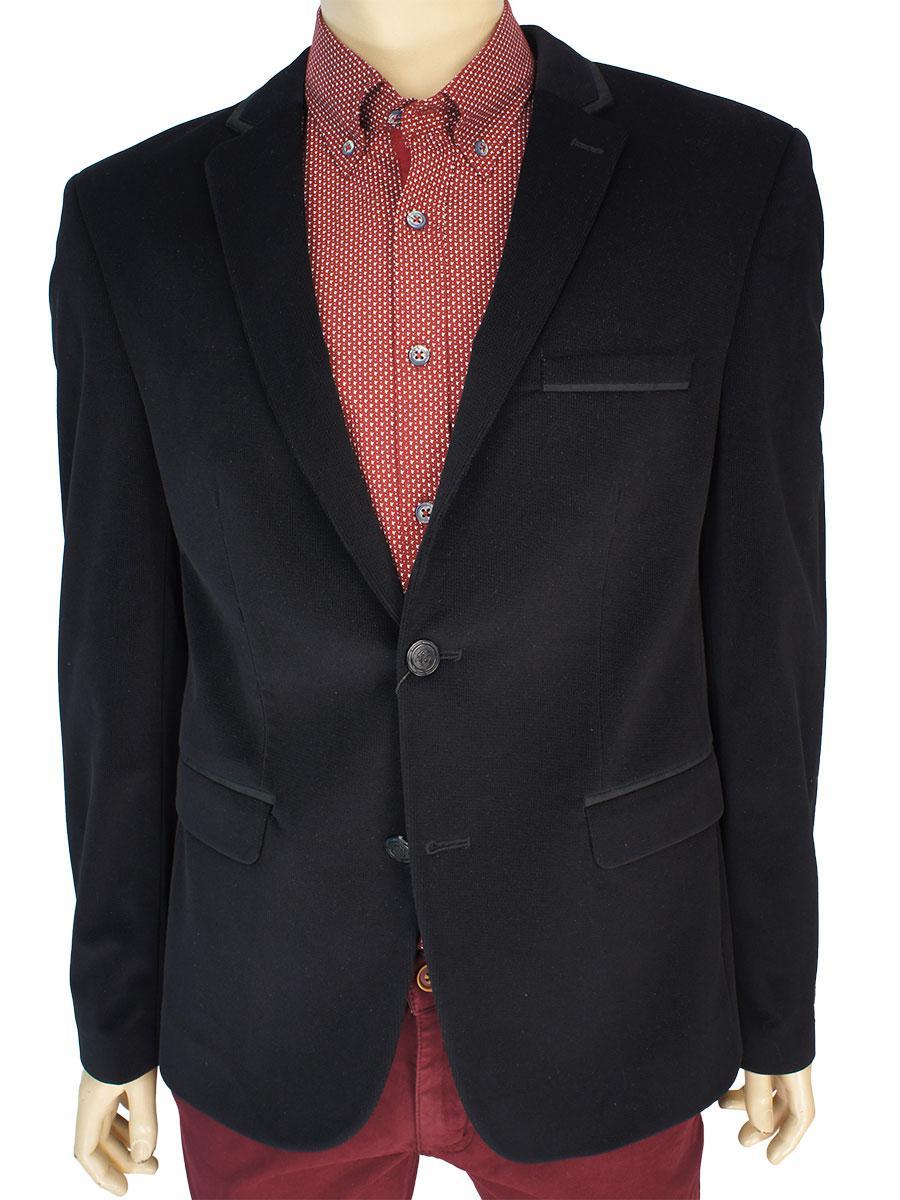 Мужской пиджак Daniel Perry alex C-Siyah в черном цвете