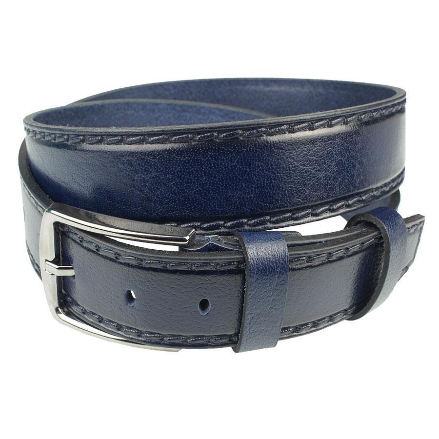Темно-синий мужской ремень Bond 215-405