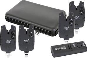 Набор радио сигнализаторов Carp Expert ENZA (4+1) 200м
