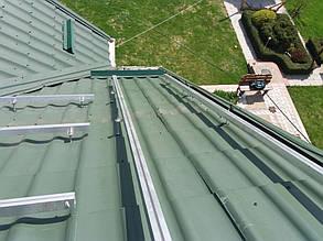 монтаж системы креплений солнечных панелей на скатную крышу