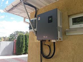 настройка и запуск сетевого солнечного инвертора Altek