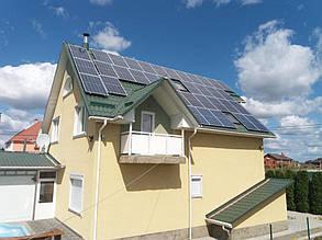 сетевая солнечная электростанция под зеленый тариф Киевская область поселок Михайловка-Рубежовка
