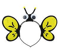 Обруч на голову карнавальный  Пчелка