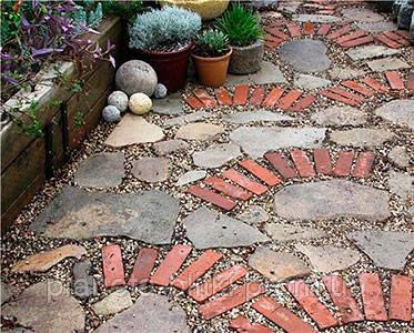Существует множество идей по укладке плитки в ландшафтном дизайне