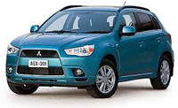 Коврики в салон Mitsubishi ASX 2010-