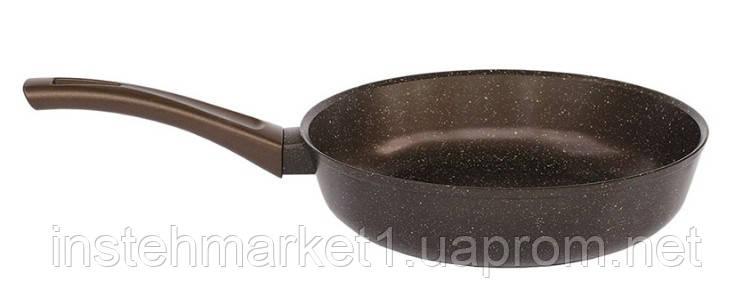 Сковорода БИОЛ Декор 28076П (діаметр 280 мм) алюмінієва з антипригарним покриттям без кришки