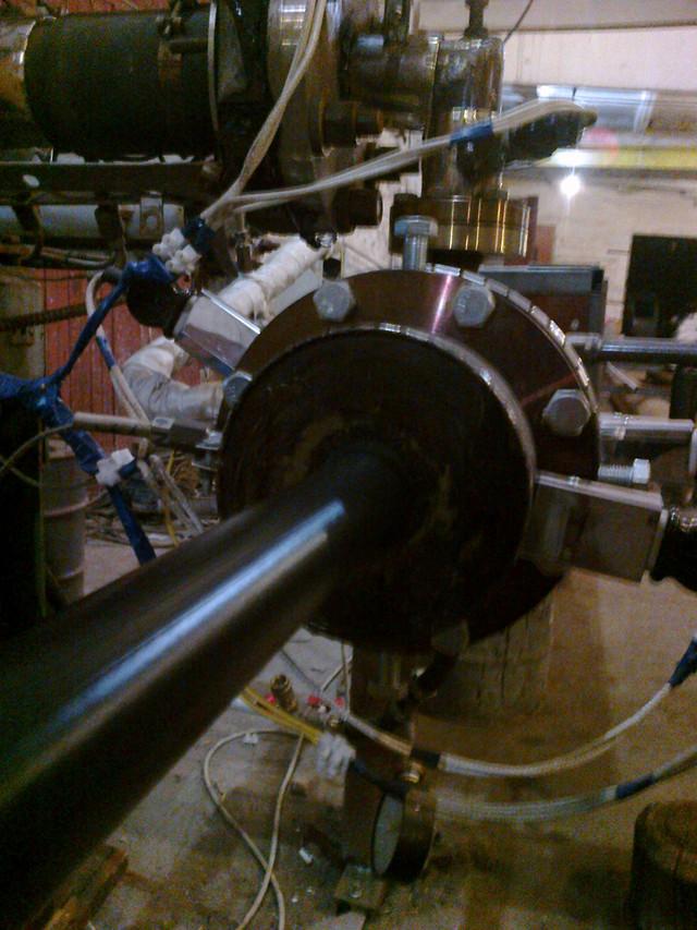 Кольцевая екструзионная головка для нанесения антикорозионных покрытий на трубы  дм.32..89мм