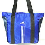 Сумки УНИВЕРСАЛЬНЫЕ для фитнеса Adidas (голубой)34*48, фото 6