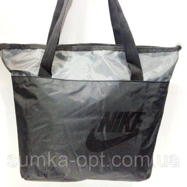 Сумки УНИВЕРСАЛЬНЫЕ для фитнеса Nike (черный+серый)32*42