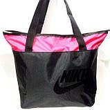 Сумки УНИВЕРСАЛЬНЫЕ для фитнеса Nike (черный+оранжевый)32*42, фото 3