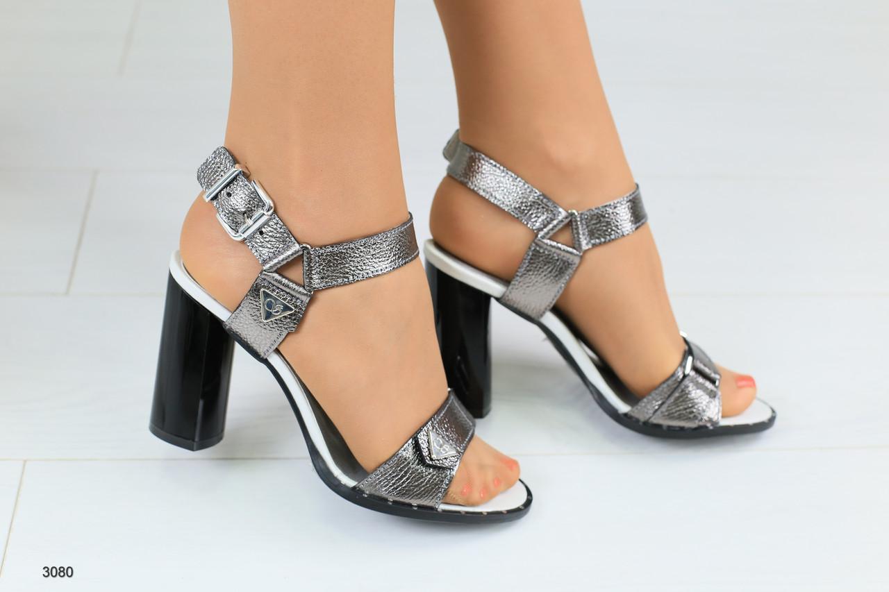 fdf3b0eb1072 Женские кожаные босоножки на удобном каблуке 38 - Интернет-магазин обуви  Vzuto в Чернигове