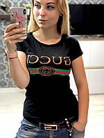 Женская футболка Gucci 100% котон