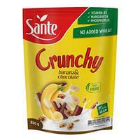 Кранчи банановые с шоколадом Sante