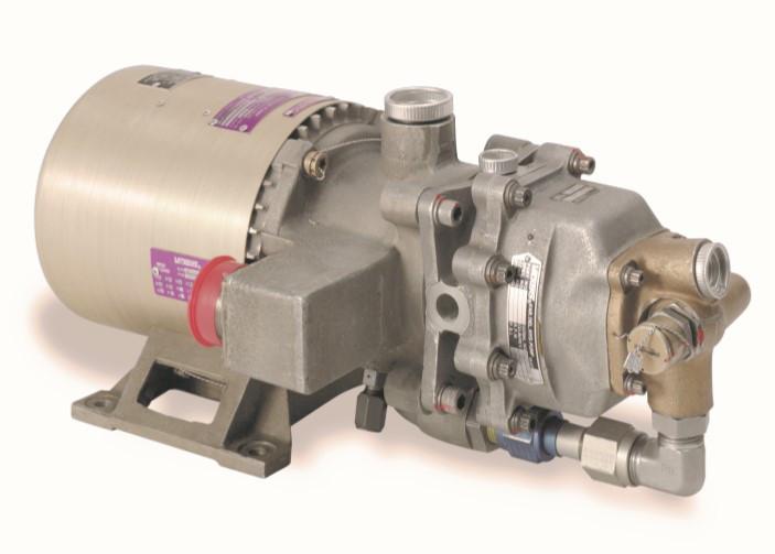 Мотор-насос Eaton MPEV3-032 с жидкостным охлаждением для авиатехники