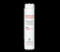 Remedy shampoo KROM. Шампунь восстанавливающий с растительным кератином и маслом оливы 250 мл