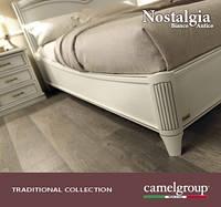 спальня Ностальжи Бьянко/Nostalgia, итальянская спальня, классическая, Camelgroup мебель, цена от: