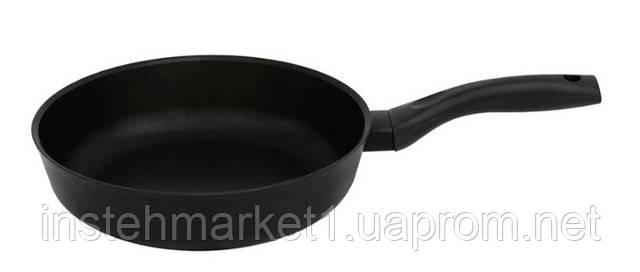 Сковорода алюминиевая с антипригарным покрытием БИОЛ 2207ПC (220х103 мм) бакелитовая ручка, крышкав интернет-магазине