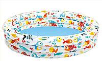 Детский надувной бассейн Рыбки