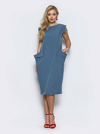 3d5481a10015f9 Незвичайне повсякденне плаття костюмна тканина розмір 44,46,48,50,52,