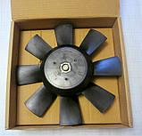 Електровентилятор примусового охолодження 12 Вольт, на автомобілі ВАЗ, ГАЗ, АЗЛК, ІЖ, ЗАЗ, ЗІЛ, фото 2