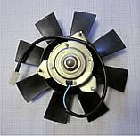Електровентилятор примусового охолодження 12 Вольт, на автомобілі ВАЗ, ГАЗ, АЗЛК, ІЖ, ЗАЗ, ЗІЛ, фото 3
