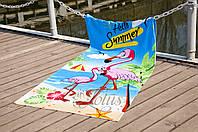 Пляжное полотенце LOTUS Flamingo