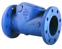 Клапан обратный чугунный поворотный межфланцевыйц Duyar (PN16)T-0410-150