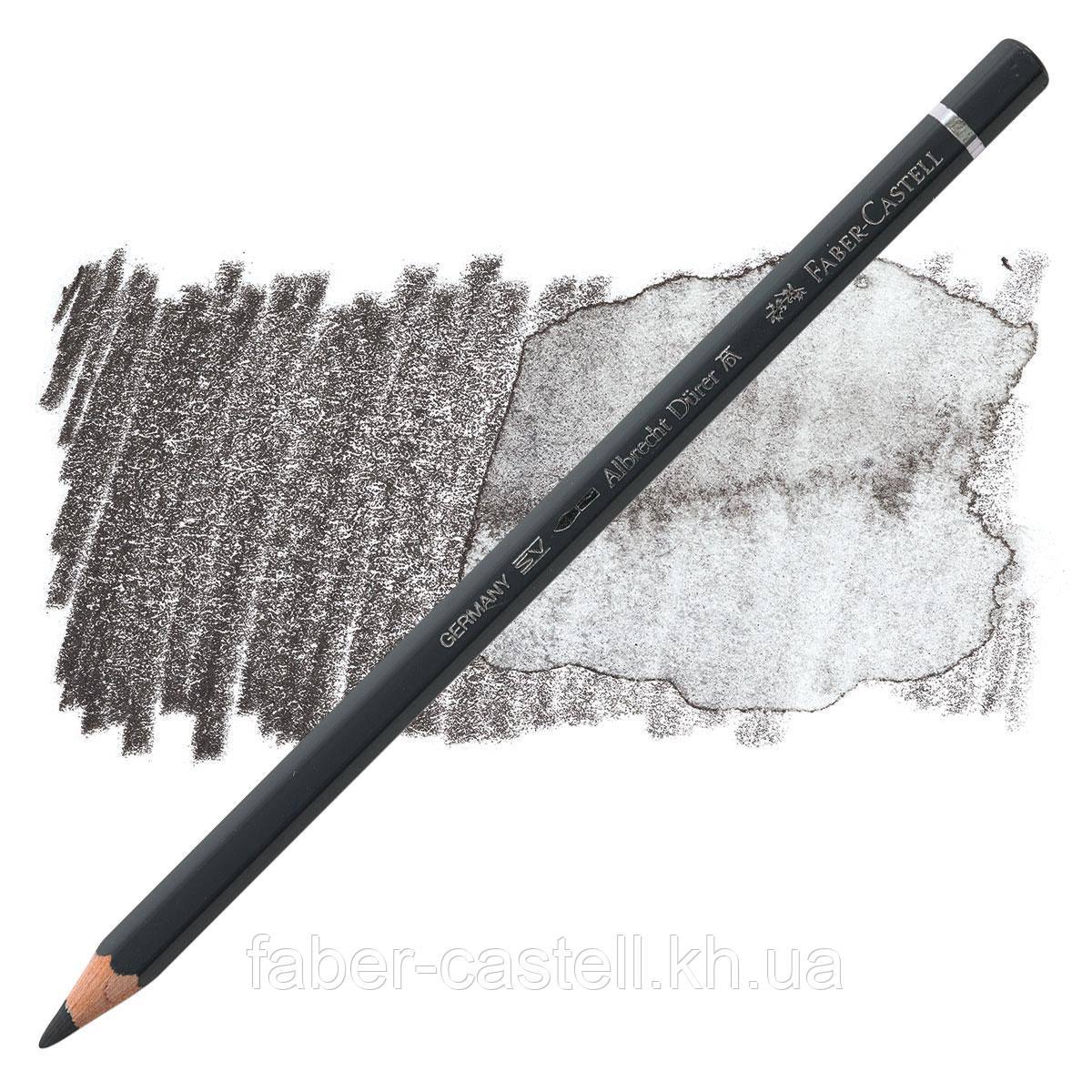 Олівець акварельний кольоровий Faber-Castell Albrecht Дюрера холодний сірий VI (Cold Gray VI) №235, 117735